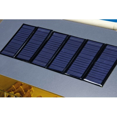 KIDS GLOBE 1:32 PACK OF 8 MODEL SOLAR PANELS