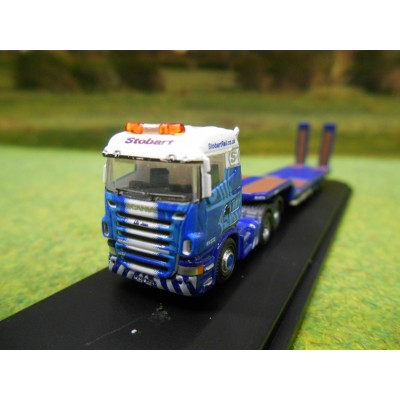 OXFORD 1:148 EDDIE STOBART RAIL SCANIA HIGHLINE & LOWLOADER 11 CM N GAUGE