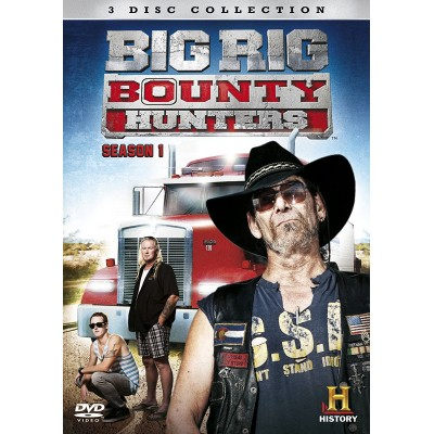 BIG RIG BOUNTY HUNTERS SEASON 1 3 DVD SET HISTORY CHANNEL