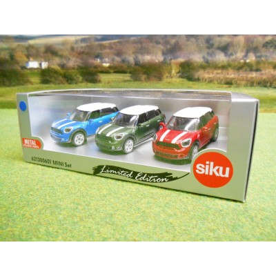 SIKU 1:55 LIMITED EDITION BMW MINI COUNTRYMAN CAR GIFT SET