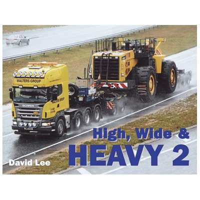 HIGH, WIDE & HEAVY 2 DAVID LEE HARDBACK BOOK