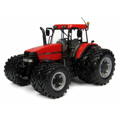 UNIVERSAL HOBBIES 1:32 CASE IH MAXXUM MX170 DUAL WHEEL TRACTOR