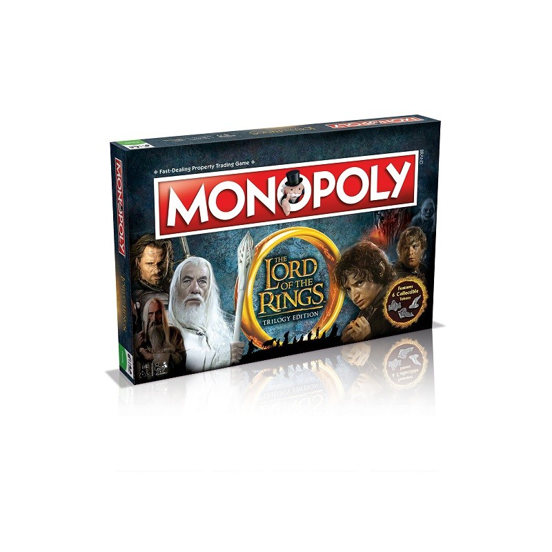 MONOPOLY - LORD OF THE RINGS TRIOLOGY EDITION BOARD GAME