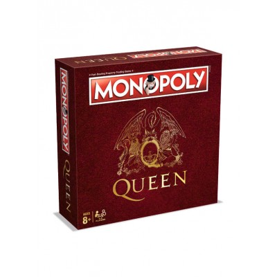 MONOPOLY - QUEEN EDITION BOARD GAME