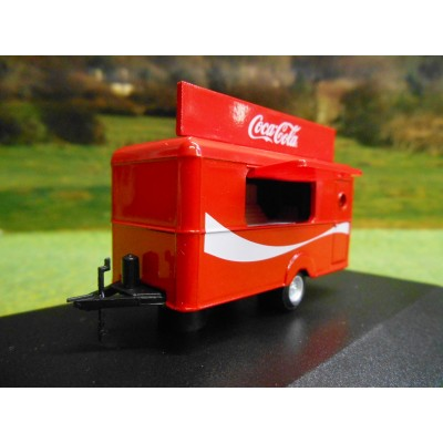 OXFORD 1:76 COCA COLA MOBILE CATERING UNIT TRAILER