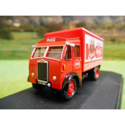 OXFORD 1:76 ALBION VICTOR BOX VAN COCA COLA
