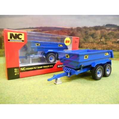 BRITAINS 1:32 NC 314 POWER TILT DUMP TRAILER