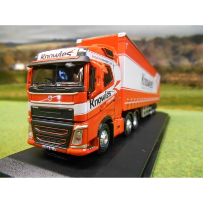 OXFORD 1:76 KNOWLES TRANSPORT VOLVO FH4 ARTIC CURTAINSIDER