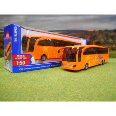 SIKU 1:50 MERCEDES BENZ TRAVEGO COACH SUN TOURS