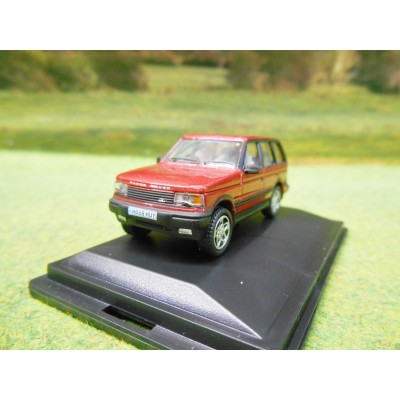 OXFORD 1:76 1990s RANGE ROVER P38 IN RIOJA RED
