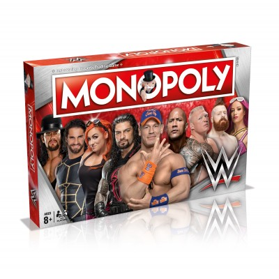 MONOPOLY - WWE (World Wrestling Entertainment) BOARD GAME
