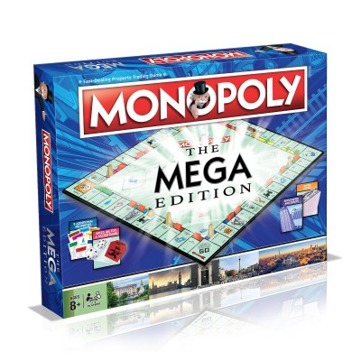 MONOPOLY - THE MEGA EDITION BOARD GAME