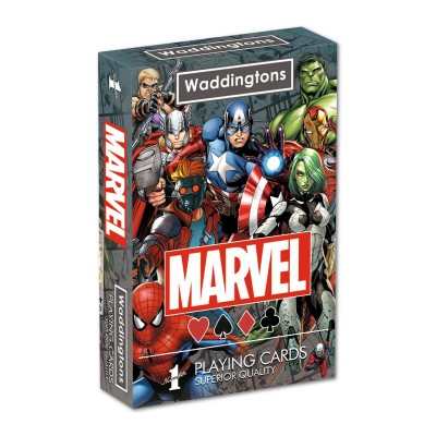 OFFICIAL MARVEL UNIVERSE WADDINGTONS PLAYING CARDS