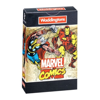 OFFICIAL MARVEL COMICS RETRO WADDINGTONS PLAYING CARDS