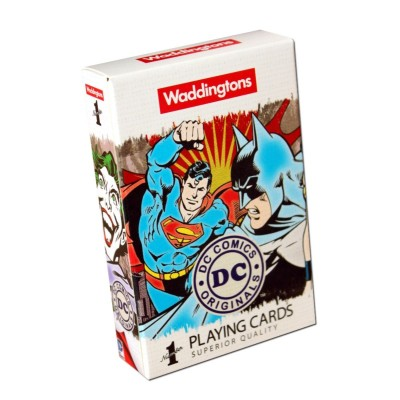 OFFICIAL DC COMICS RETRO WADDINGTONS PLAYING CARDS