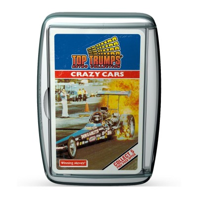 TOP TRUMPS - CRAZY CARS RETRO LIMITED EDITION CARD GAME