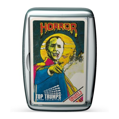 TOP TRUMPS - HORROR 1 RETRO LIMITED EDITION CARD GAME