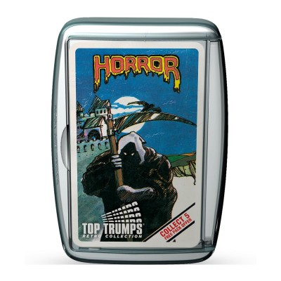 TOP TRUMPS - HORROR 2 RETRO LIMITED EDITION CARD GAME