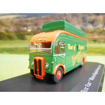 ATLAS CORGI 1/76 AEC HARRINGTON BOX TRUCK WEST OF ENGLAND BOXING ACADEMY