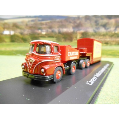 ATLAS CORGI 1/76 FODEN LORRY & LOW LOADER CARTERS STEAM FAIR GALLOPERS