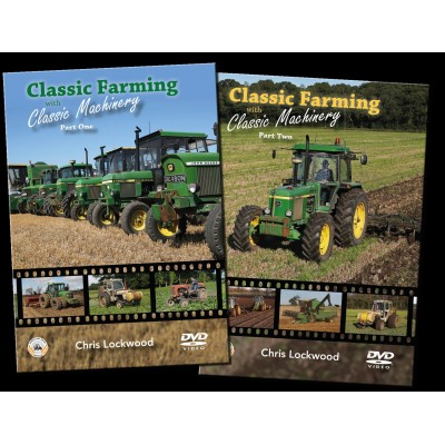 CLASSIC FARMING WITH CLASSIC MACHINERY PART 1 & 2 DVD CHRIS LOCKWOOD