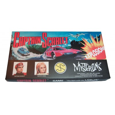 CAPTAIN SCARLET RETRO BOARD GAME