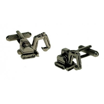 EXCAVATOR CUFFLINKS IN GIFT BOX