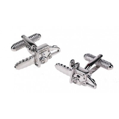 CHAINSAW CUFFLINKS IN GIFT BOX