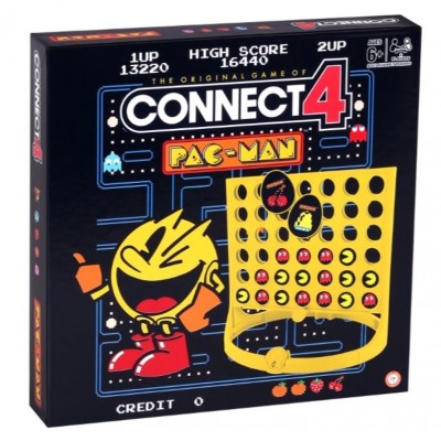 PACMAN CONNECT 4 GAME