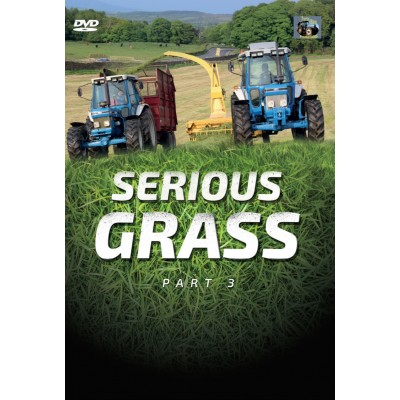 SERIOUS GRASS DVD TRACTOR BARN (FORD TRACTORS)
