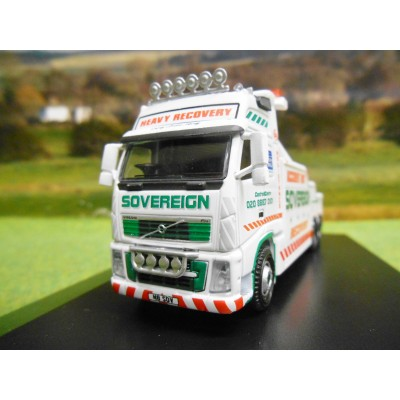 OXFORD 1:76 VOLVO FH SOVEREIGN RECOVERY WRECKER TRUCK
