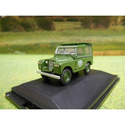 OXFORD 1:76 SERIES 2 LANDROVER SWB HARDTOP POST OFFICE TELEPHONES