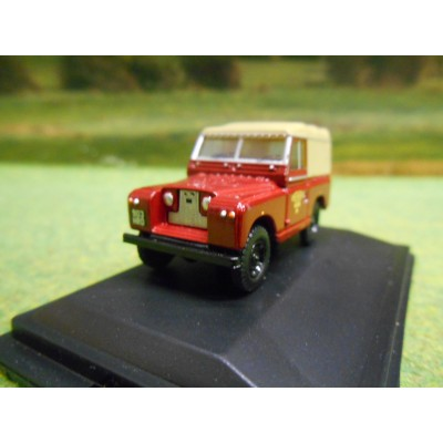 OXFORD 1:76 SERIES 2 GREEN LANDROVER STATION WAGON