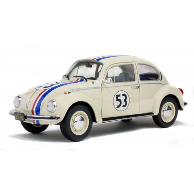 SOLIDO HERBIE No53 VOLKSWAGEN BEETLE 1/18 LIMITED EDITION