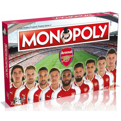 MONOPOLY - ARSENAL FOOTBALL CLUB 2017 BOARD GAME