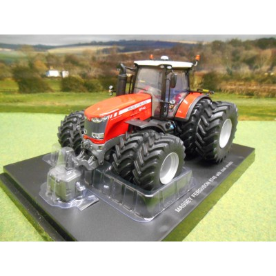 UNIVERSAL HOBBIES 1:32 MASSEY FERGUSON 8740 4WD TRACTOR ON DUAL WHEELS