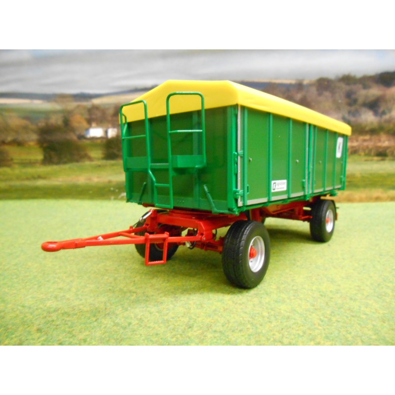 WIKING 1:32 KROGER AGROLINER HKD302 SIDE & REAR TIPPER TRAILER