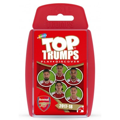 TOP TRUMPS - ARSENAL FOOTBALL CLUB 2017/18 CARD GAME