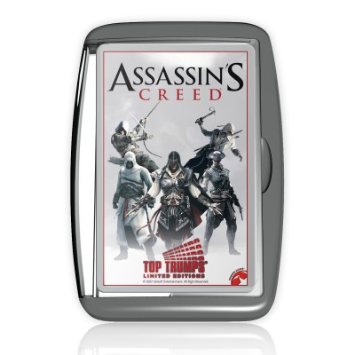 TOP TRUMPS - ASSASSINS CREED LIMITED EDITION CARD GAME