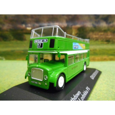 ATLAS CORGI 1/76 BRISTOL LODEKKA FS OPEN TOP DOUBLE DECKER BUS SOUTHDOWN