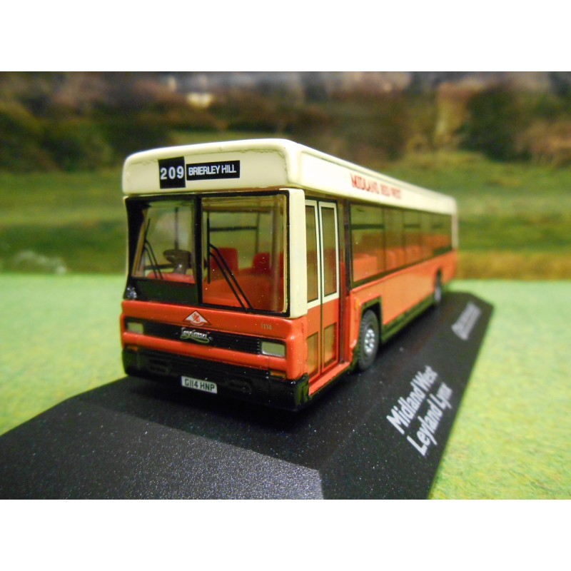 ATLAS CORGI 1/76 LEYLAND LYNX BUS MIDLAND RED WEST