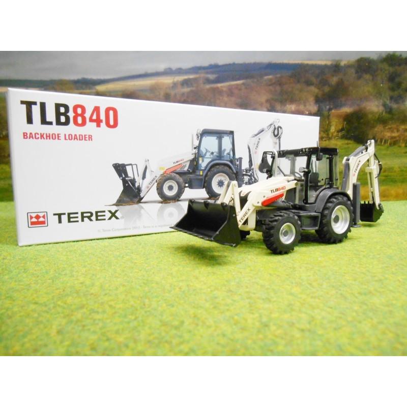 NZG 1/50 TEREX TLB840 BACKHOE LOADER DIGGER