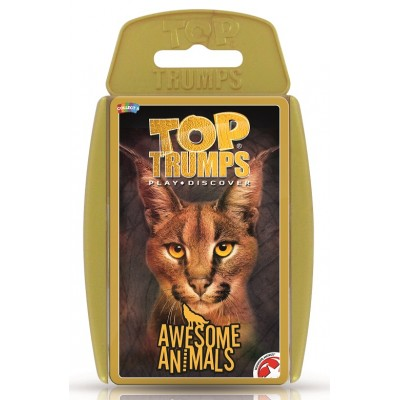 TOP TRUMPS - AWESOME ANIMALS CARD GAME 2018 VERSION