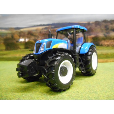 BURAGO 1:32 NEW HOLLAND T7040 4WD TRACTOR