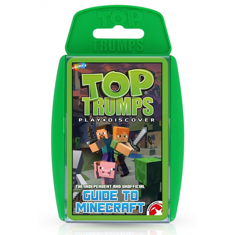 TOP TRUMPS - OFFICIAL MINECRAFT CARD GAME
