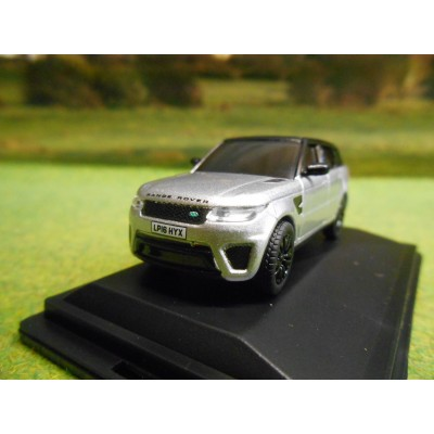 OXFORD 1:76 RANGE ROVER VOGUE INDUS SILVER