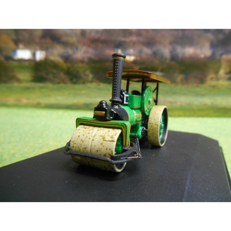 OXFORD FOWLER STEAM ROLLER CITY OF TRURO 1:76