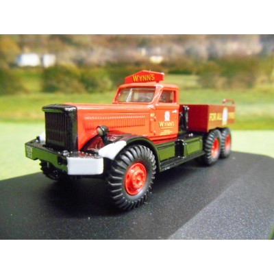OXFORD 1:76 PICKFORDS DIAMOND T BALLAST TRUCK