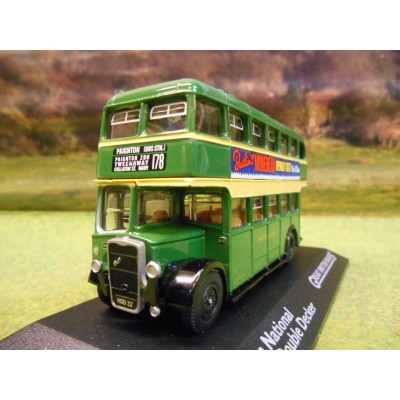 ATLAS CORGI 1/76 BRISTOL K DOUBLE DECKER BUS WESTERN NATIONAL