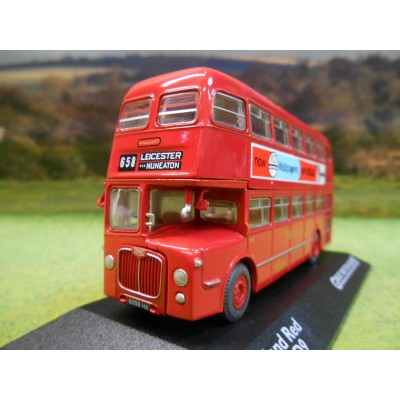 ATLAS CORGI 1/76 BMMO D9 DOUBLE DECKER BUS MIDLAND RED